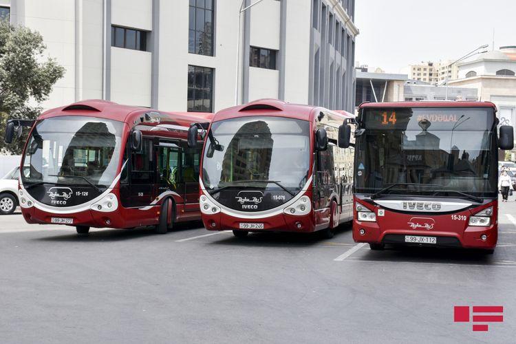 BNA: Son vaxtlar yollarda müşahidə olunan hərəkətlilik və nəqliyyat sıxlığı avtobusların hərəkətinə ciddi maneə yaradır