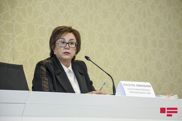 """DİM sədri: """"III qrup üzrə müsabiqəyə buraxılan 2576 abituriyent 150-200 bal toplayıb"""""""