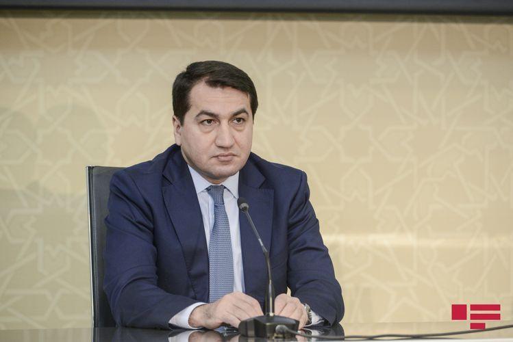 Хикмет Гаджиев: Армения использует в качестве вооруженных наемников людей, переселенных из Сирии и Ливана на оккупированные территории