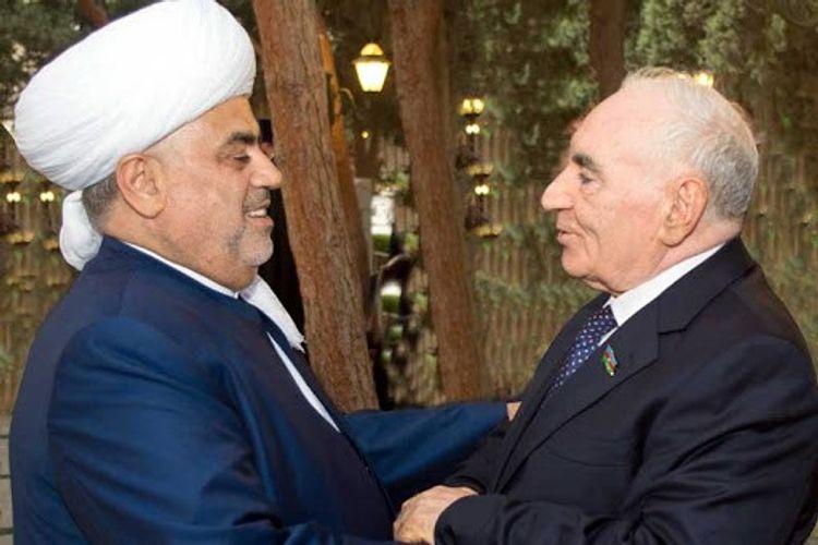 Шейхульислам: Нас объединял с Фаттахом Гейдаровым единый моральный путь