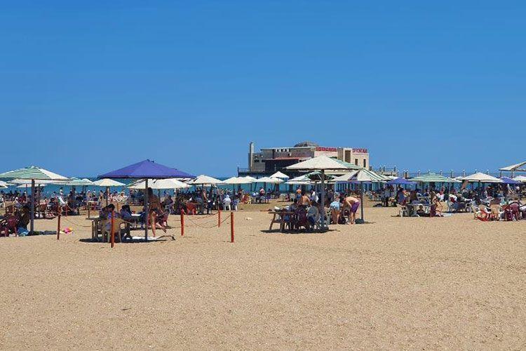 На пляжах разрешена деятельность объектов общественного питания
