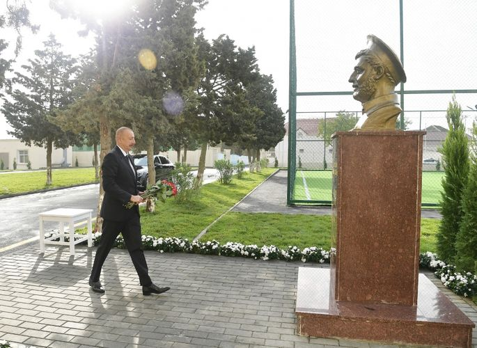 President Ilham Aliyev inaugurated secondary school No.154 in Amirjan settlement - UPDATED