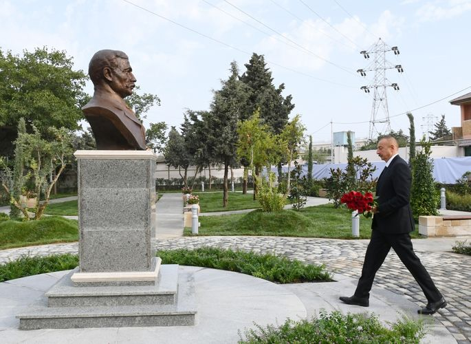Park named after Murtuza Mukhtarov opened in Amirjan settlement of Baku - UPDATED