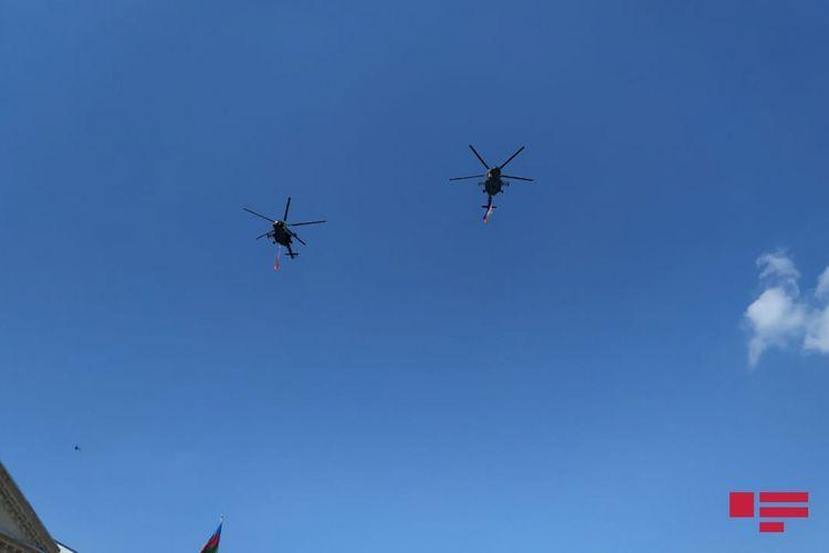 Над Гянджой проводятся показательные полеты военных самолетов Азербайджана и Турции – <span class='red_color'>ОБНОВЛЕНО</span>  - <span class='red_color'>ФОТО</span>