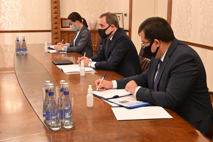 Jeyhun Bayramov received new Ambassador of the Kingdom of Sweden