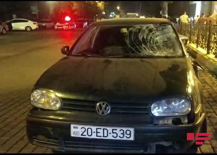 Gəncədə maşının vurduğu piyadalardan biri ölüb - FOTO