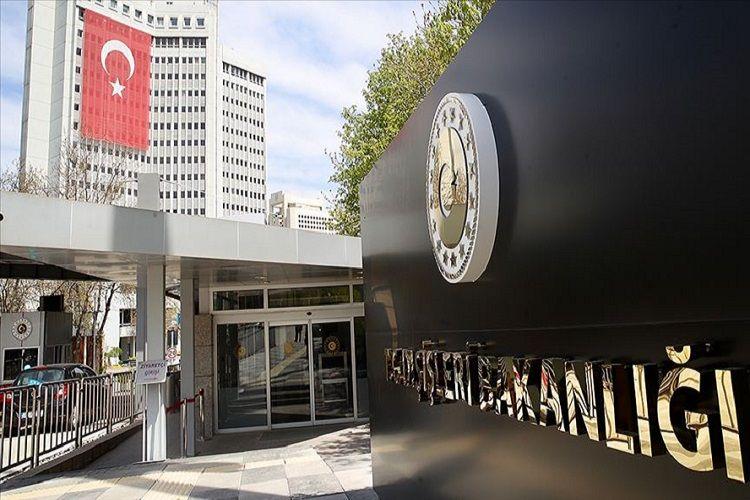 Türkiyə XİN: Avropa Parlamenti Baş Assambleyasının Türkiyəyə verdiyi tövsiyə eqoist maraqlara xidmət edir