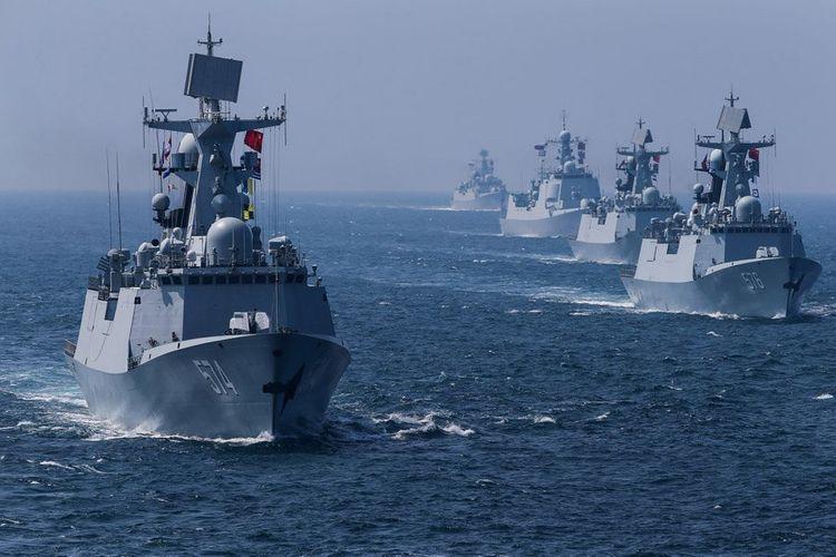 Çin Tayvan boğazı yaxınlığında hərbi təlimlərə başlayıb