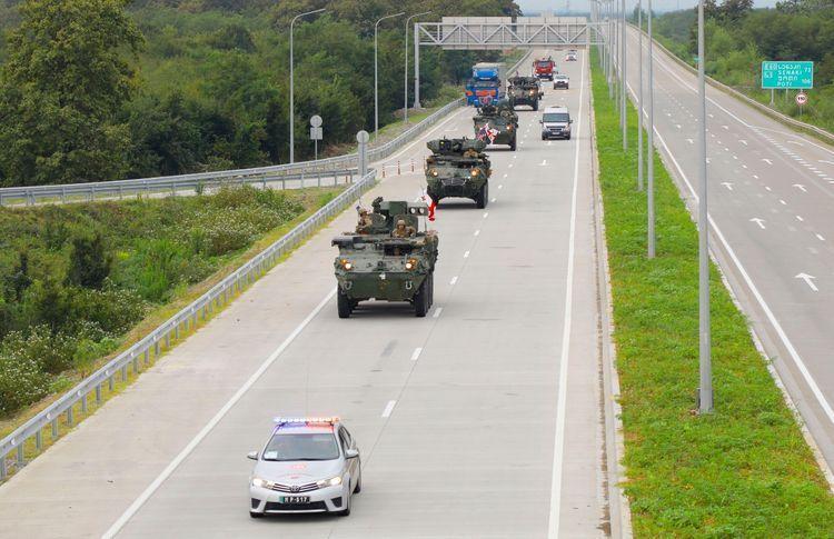В Грузии завершились международные военные учения