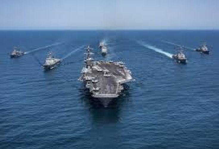 Ударная группа ВМС США зашла в Персидский залив