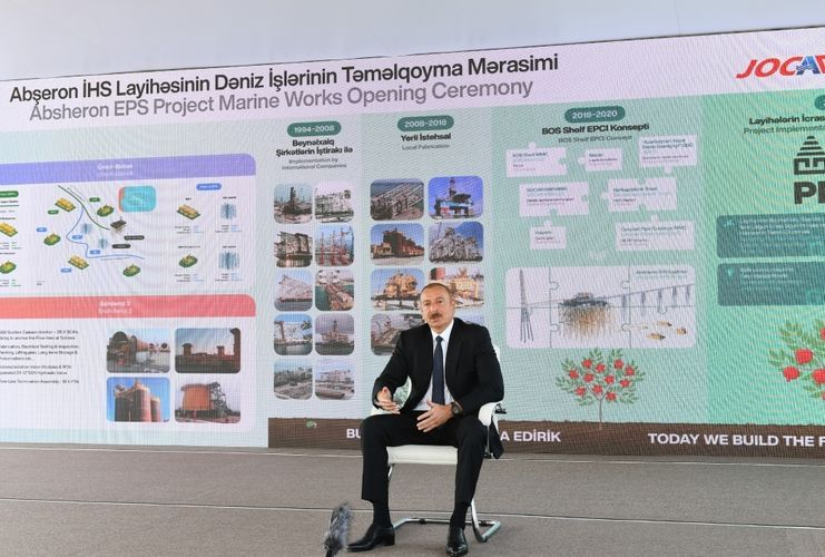 """President Ilham Aliyev: """"Today, Azerbaijan is in the forefront of all rankings"""""""
