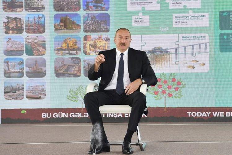 Ильхам Алиев: Сегодня право голоса в Армении принадлежит Соросу