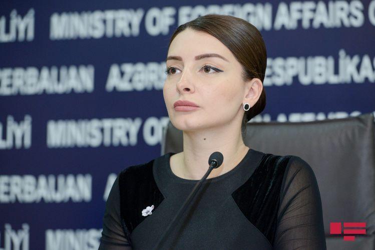 Leyla Abdullayeva responds to the Armenian Foreign Ministry