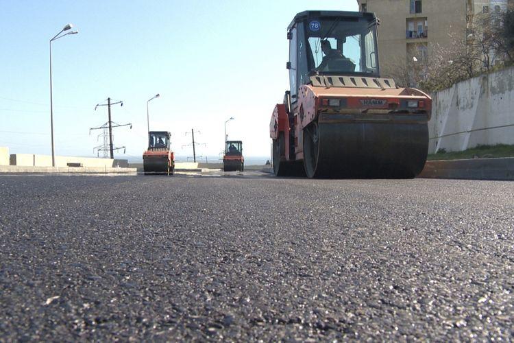 На реконструкцию дорог в Сабаильском районе выделено 1,9 млн манатов