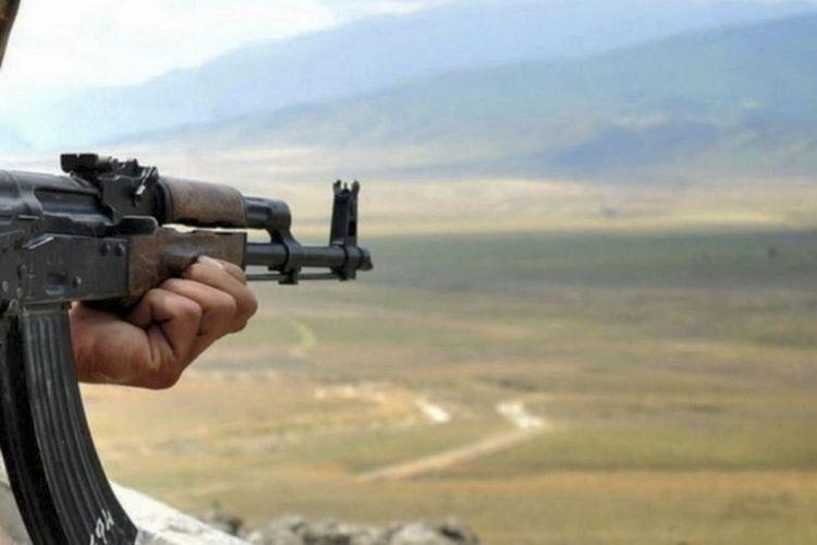 Armenians wounded Azerbaijani soldier