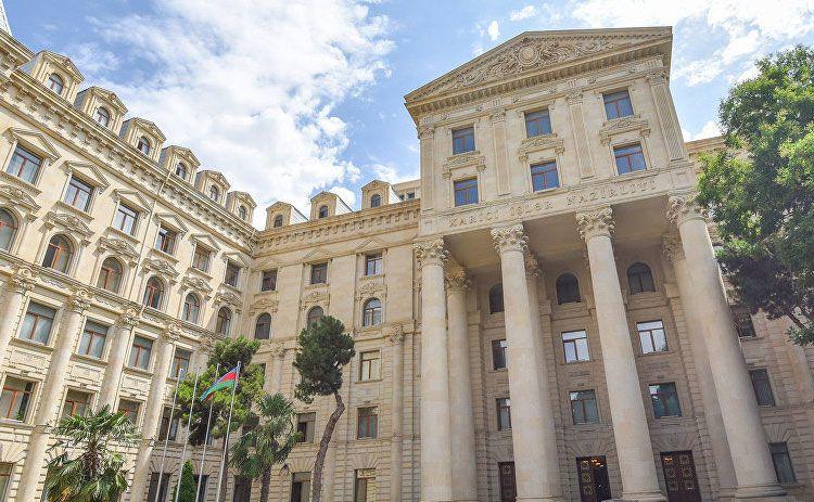 Azerbaijani MFA issues statement on recent Armenian provocation