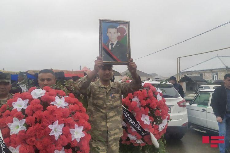 Похоронен военнослужащий Азербайджанской Армии - <span class=