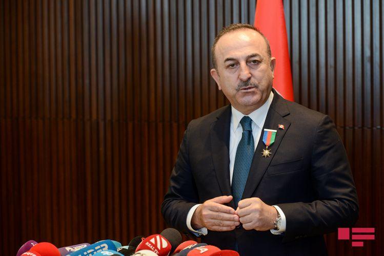 """Mövlud Çavuşoğlu: """"Ermənistanı ağlını başına toplamağa, hücumlarına son verməyə çağırıram"""""""