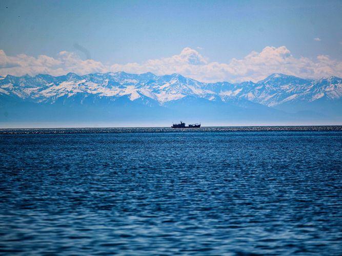 В районе озера Байкал произошло землетрясение магнитудой 5,9