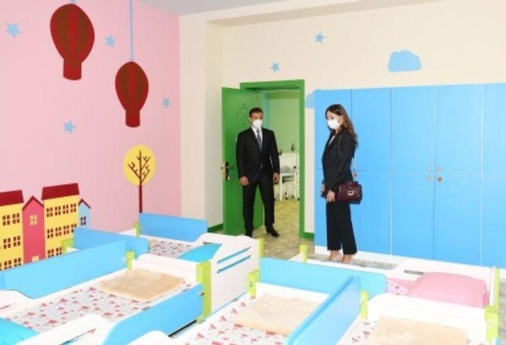 New Kindergarten commissioned in Baku