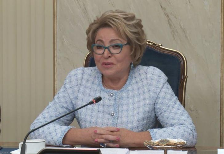 "Matvienko: ""Azerbaijan remains Russia's strategic partner"""
