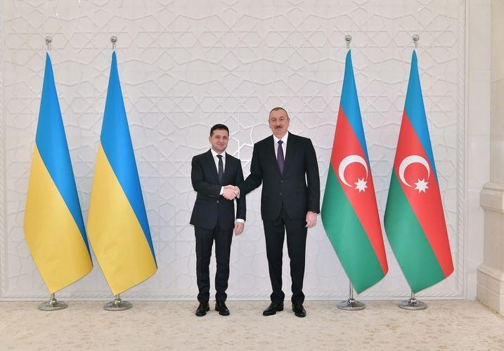 Ukrainian President Volodymyr Zelensky phoned President Ilham Aliyev