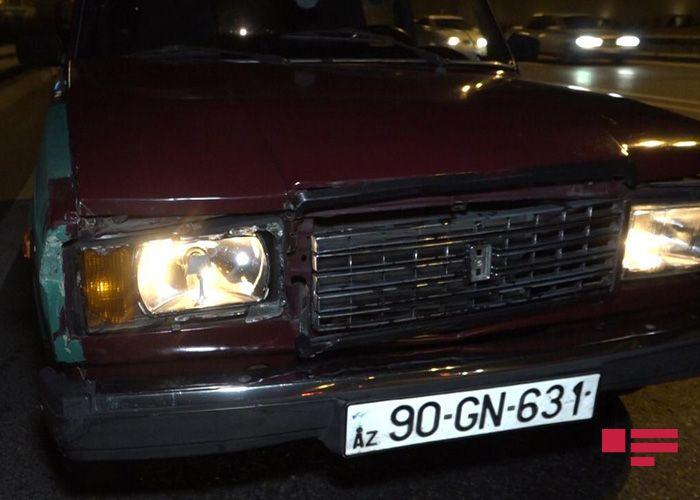 Bakıda 6 avtomobil toqquşub, ölən var - <span class='red_color'>FOTO</span> - <span class='red_color'>YENİLƏNİB</span>