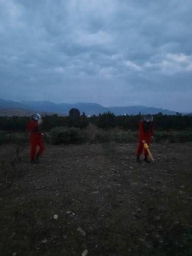 Şəmkirdə 2 ədəd top mərmisi tapılıb - <span class='red_color'>FOTO</span>