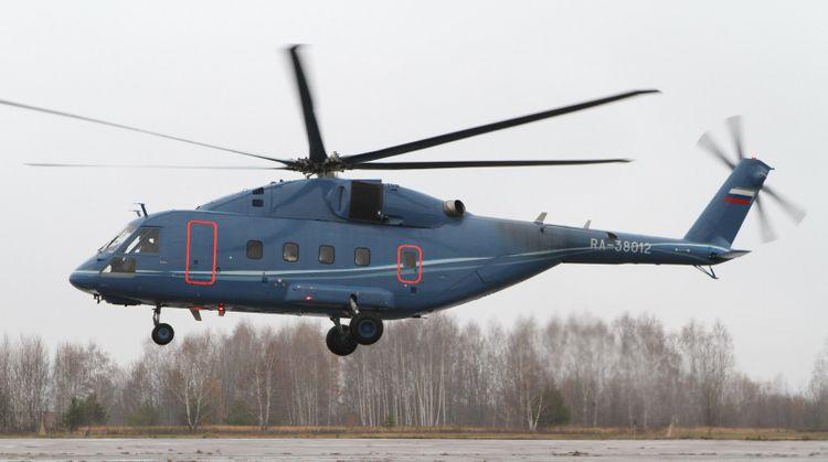 Mi-38 helicopter to be equipped with unique anti-icing system