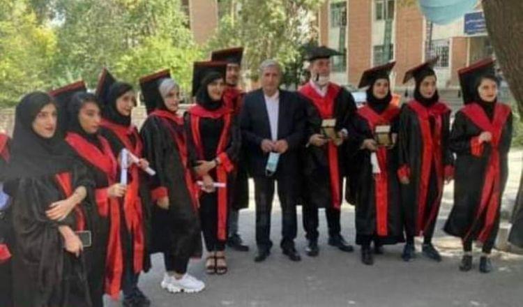 Состоялся первый выпуск на факультете азербайджанского языка и литературы Тебризского университета