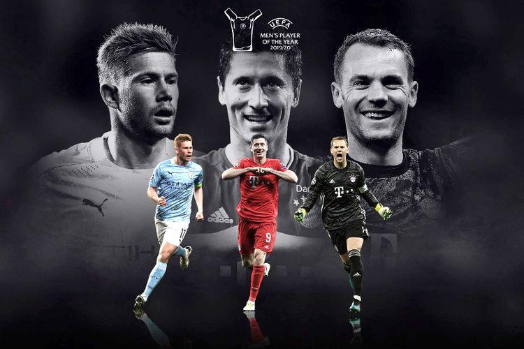 UEFA ötən mövsümün futbolçusu adına namizədləri açıqlayıb