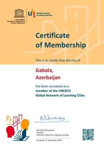 Города Азербайджана избраны членами Глобальной сети обучающихся городов ЮНЕСКО