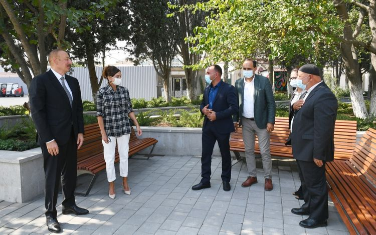 """Azerbaijani President: """"Landscaping work in each settlement should be discussed with local residents"""""""