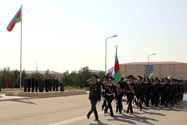 Naxçıvan Qarnizonu Qoşunlarında təşkil edilən kurslar başa çatıb - <span class=