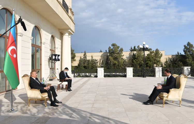 """President Ilham Aliyev: """"There is a very high-level partnership between the European Union and Azerbaijan"""""""