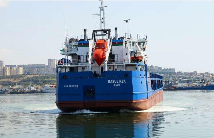Судно «Расул Рза» вновь отправлено во внешние воды после ремонта