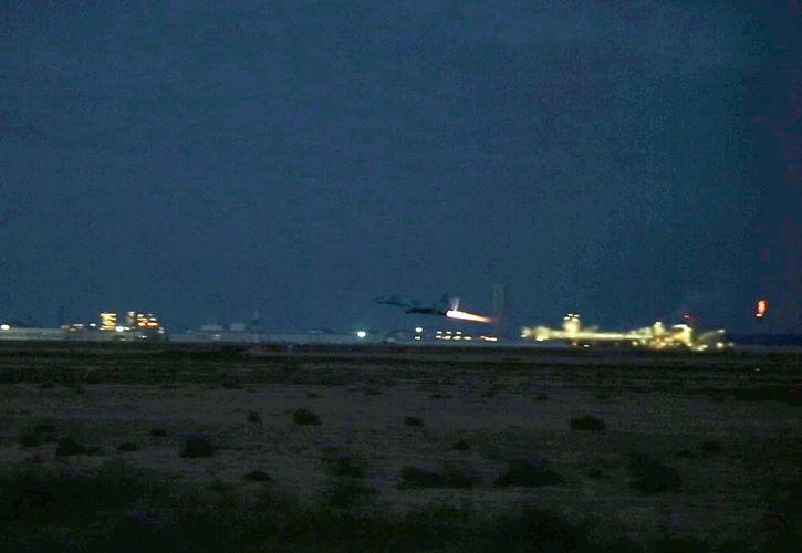 Hərbi Hava Qüvvələri gecə təlimləri keçirib - <span class='red_color'>VİDEO</span>
