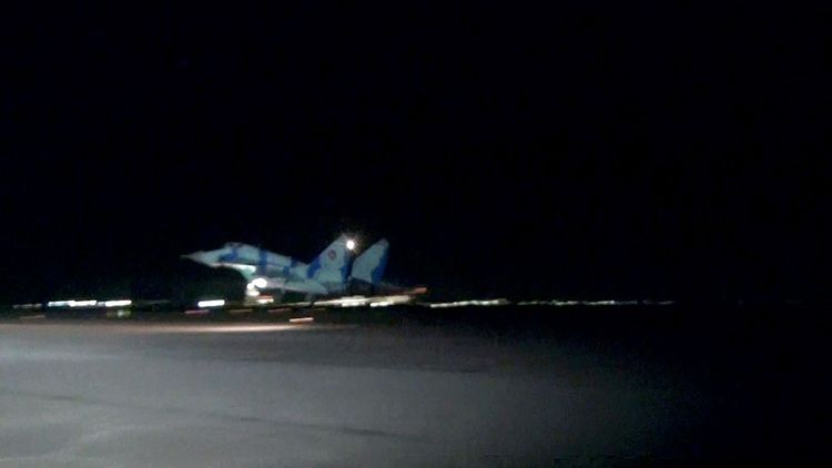 Azerbaijani MoD: Air Force hold night exercises - <span class='red_color'>VIDEO</span>