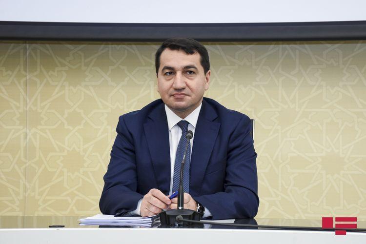 Хикмет Гаджиев: Такое государство как Армения не имеет морального права говорить о международном праве