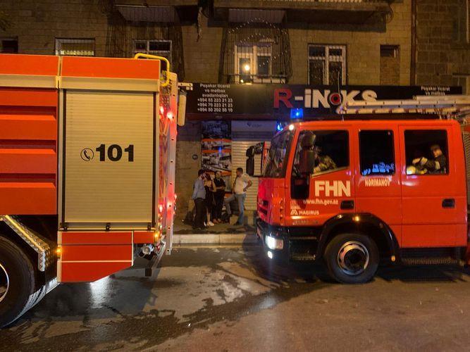 В одном из пабов Баку произошел пожар, посетители эвакуированы  - <span class=