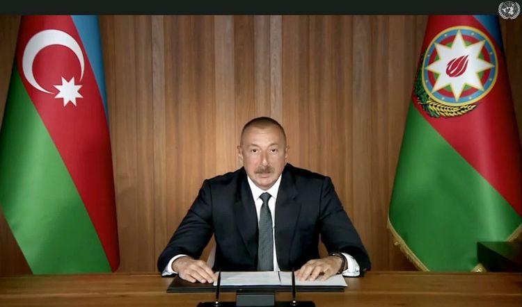 Azerbaijani President: We urge all countries to refrain from supplying arms to Armenia