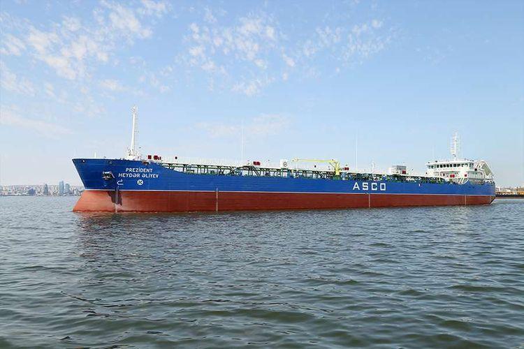 Завершен капитальный ремонт танкера «Президент Гейдар Алиев»