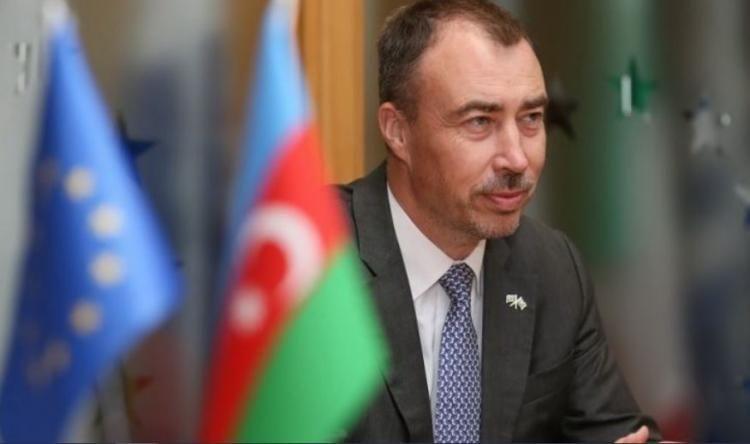 EU Special Representative for the South Caucasus and the crisis in Georgia arrives in Azerbaijan