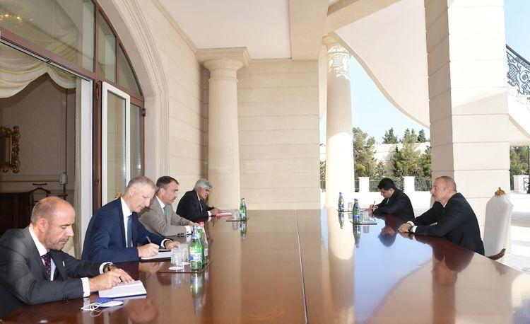 Президент Ильхам Алиев принял спецпредставителя ЕС по Южному Кавказу  - ОБНОВЛЕНО