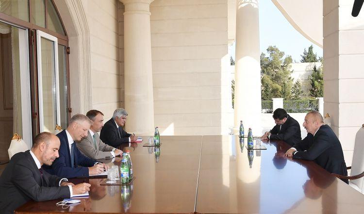 Президент Ильхам Алиев принял спецпредставителя ЕС по Южному Кавказу  - <span class='red_color'>ОБНОВЛЕНО</span>