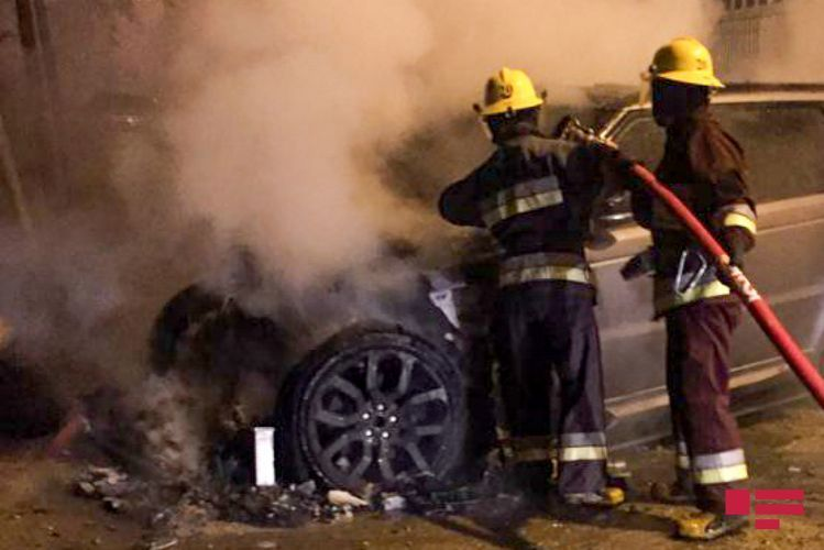 В Уджаре сгорел грузовой автомобиль