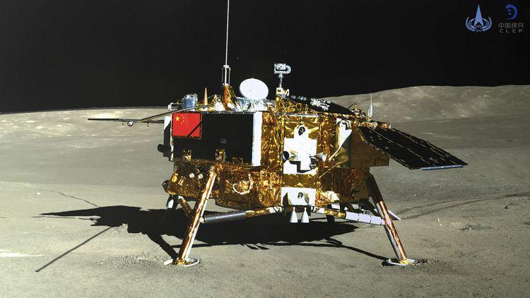 Ученые впервые измерили дозу облучения на поверхности Луны