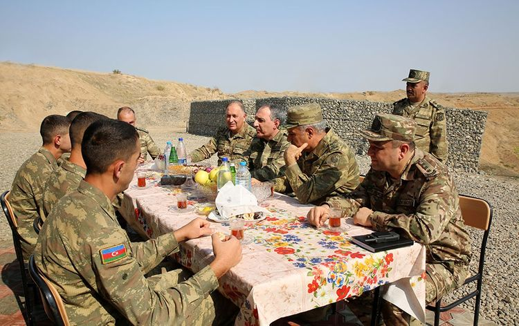 Azerbaijan's Prosecutor General and Military Prosecutor visit military units in the frontline zone