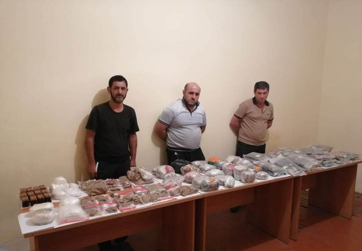 Smuggling of 84 kg of narcotic substance from Iran into Azerbaijan prevented - <span class=
