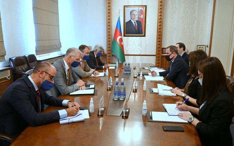 Azerbaijani FM meets with  EU Special Representative for the South Caucasus